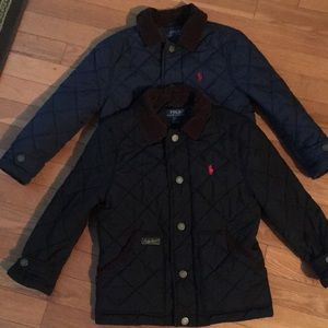 (2) Two POLO Ralph Lauren Kids Youth Coats Size 5